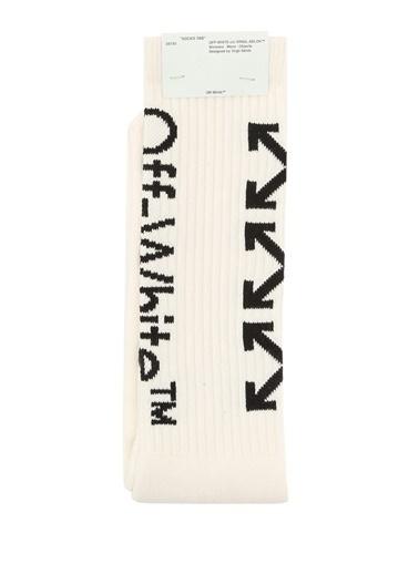 Off-White Çorap Siyah